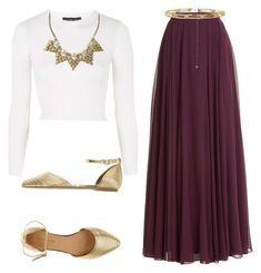 Maxi Skirt Outfits 082