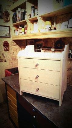 nightstand Nightstand, Dresser, Woodworking, Furniture, Home Decor, Bedside Desk, Powder Room, Night Stands, Stained Dresser