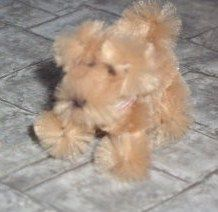 how to: dollhouse pipe cleaner dog. Might also serve as an armature to do needle felting over? Pipe Cleaner Projects, Pipe Cleaner Art, Pipe Cleaner Animals, Pipe Cleaners, Miniature Crafts, Miniature Dolls, Mini Teddy Bears, Dollhouse Tutorials, Doll Crafts
