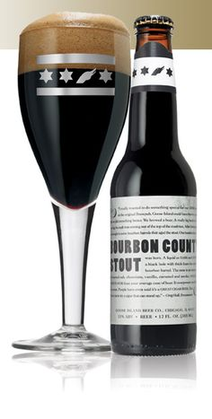 Goose Island Bourbon County Stout - 'aint it pretty