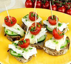 Canapés de camembert | Envie de bien manger http://www.enviedebienmanger.fr/