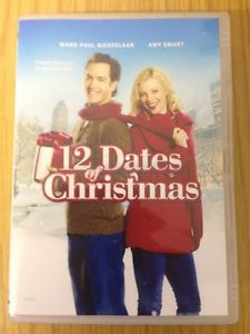 12 DATES OF CHRISTMAS (2011) Christmas Movie Amy Smart Mark-Paul [DVD]