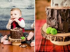 lumberjack first birthday
