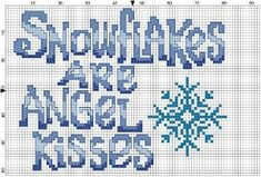 Angel Kisses Counted Cross Stitch by Berwickbay on Etsy, $1.00 by alissa