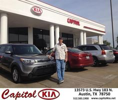 https://flic.kr/p/FQBqgk | Happy Anniversary to Luis  on your #Kia #Soul from Ivan Rodriguez at Capitol Kia! | deliverymaxx.com/DealerReviews.aspx?DealerCode=RXQC