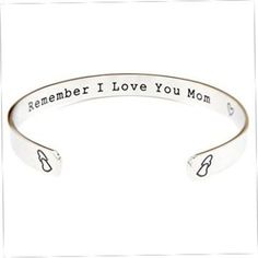 Love You Always Bracelet | Wedding Gifts | Mother Of The Bride Gift Ideas