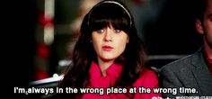 You constantly: | The 27 Most Relatable Jessica Day Quotes