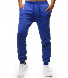 Modré pánske teplákové nohavice Nike Sb, Parachute Pants, Calvin Klein, Polo Ralph Lauren, Sweatpants, Adidas, Products, Fashion, Moda