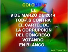 Colombia: Vota en Blanco!