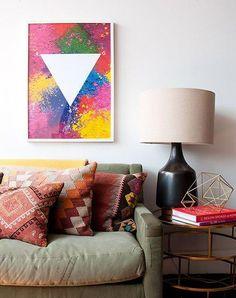 7 ideas para pintar cuadros fáciles en casa