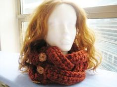 60 minute cowl.  would make a quick, and thoughtful, gift.