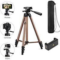 Syvo WT 3130 Aluminum Tripod Universal Lightweight Tripod with Mobile Phone Holder Mount & Carry Bag for All Smart Phones Gopro Cameras (Color May Vary) All Mobile Phones, Mobile Phone Repair, Smart Phones, Phone Tripod, Camera Tripod, Gopro Camera, Video Camera, Remote Control Holder, Still Camera
