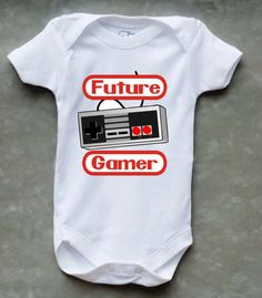 Future Gamer Onesie -when we have a baby, JT needs this for the little one ;)