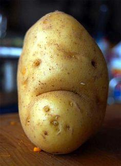 Unhappy potato is unhappy!