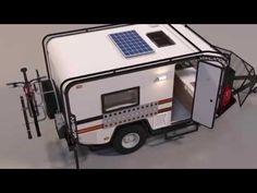 Mini off road camper - YouTube