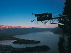 Queenstown, NZ - The BEST place for outdoor activities - including bungee jumping Best Places To Live, Best Places To Travel, Places To Visit, Milford Track, Queenstown New Zealand, Bungee Jumping, My Kind Of Town, Adventure Activities, Cool Countries