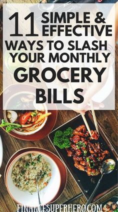 These money saving tips are great! They helped us save money on food each month and stop wasting money on groceries.