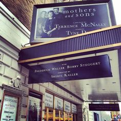 Mothers and Sons at the Golden Theatre on Broadway starring Tyne Daly (Mar 24, 2014 - Jun 22, 2014)