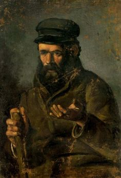El hombre de la gorra. 1895. Óleo sobre lienzo.
