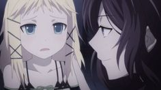 Black Bullet - Muroto  Scared Tina Sprout