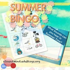 Summer is starting to heat up outside, so let's put on our listening ears and see what we can hear! Students are naturally intrigued by the world around them and love to explore it using their senses. This great activity, for grades K-2, has students discussing the sounds heard in Summer and then listening to them w/ 8 different tic-tac-toe bingo board. Summer Fun, Summer Time, Bingo Board, Listening Ears, Canada Day, Tic Tac, Classroom Resources, Etiquette, Independence Day
