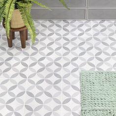 Ivy Hill Tile Cavanaugh 8 x 8 Porcelain Field Tile Bathroom Floor Tiles, Wall And Floor Tiles, Shower Floor, Wall Tiles, Best Bathroom Flooring, Linoleum Flooring Bathroom, Tile Bathrooms, Shower Walls, Room Tiles
