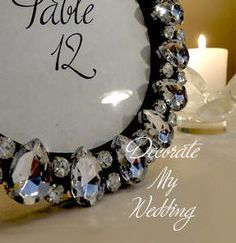 Table Number Photo Frame