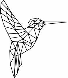 Geometric Bird, Geometric Drawing, Geometric Designs, Geometric Shapes, Barn Quilt Designs, Hummingbird Art, String Art Patterns, Digital Wall, Owl Art