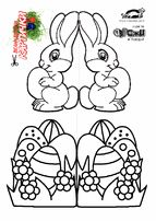 children activities, more than 2000 coloring pages Easter Templates, Easter Printables, Card Templates, Easter Coloring Pages, Colouring Pages, Easter Activities, Easter Crafts For Kids, Easter Baskets, Easter Eggs