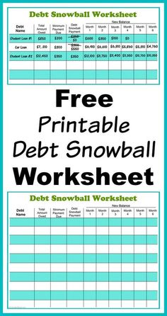Download A Free Debt Reduction Calculator Spreadsheet And