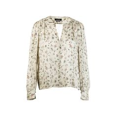 Seidenbluse Damen mit Blumenprint von Isabel Marant - STORES & GOODS Isabel Marant, Rose Shirts, Shirt Dress, Mens Tops, Clothes, Fashion, Silk, Blouses, Women's
