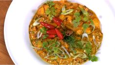 Seychellois Coconut Chicken Curry