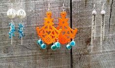 Three Quick and Easy Earring Patterns