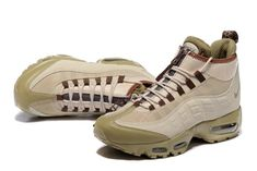 separation shoes 561dd 042a0 Nike Air Max 95 Winter Sneakerboot Khaki Matte Olive 806809 200 Men s Snow  Boots Sneakers Jordan