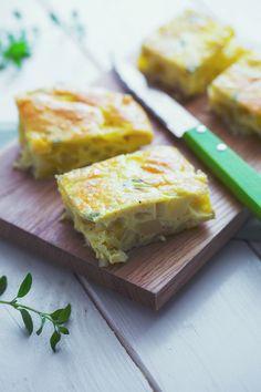 Frittata di patate al forno: niente padelle sporche o pentola da lavare. La cena è pronta e si prepara in forno!  [Baked potato omelette]
