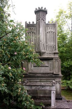 Hampstead Cemetery Organ by icb2011, via Flickr