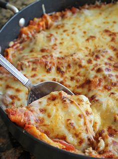 30 Minute Skillet Lasagna - Rosella Packed Lunch Ideas