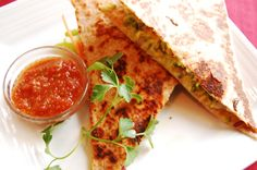 Squash Quesadillas #MeatlessMonday