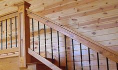 Knotty Pine Interior Walls | Interior Pine Paneling - CLEAR UV FINISH