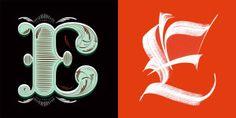 lettering vs calligraphy battle