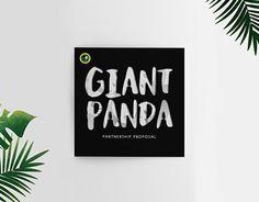 "Check out new work on my @Behance portfolio: ""Giant Panda Partnership Proposal"" http://on.be.net/1HlPPfk"
