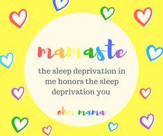 #OhmMama #Mamaste  instagram: @ohm__mama Sleep Deprivation, Wisdom, Chart, Words, Instagram, Horse