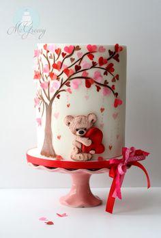 12 decorações de bolos para o dia dos namorados - Amando Cozinhar - Receitas, dicas de culinária, decoração e muito mais!