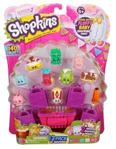 SHOPKINS SEASON 2 (12 PACK) (STYLES WILL VARY) - NEW/FREE SHIPPING #Shopkins
