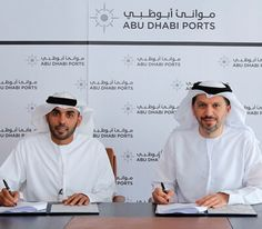 Abu Dhabi Ports and Khalifa University sign MoU http://www.edarabia.com/121644/abu-dhabi-ports-and-khalifa-university-sign-mou/