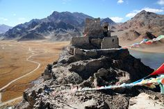 Ancient Fortress and Monastery Rutog Ngari Far Western Tibet China | by eriagn