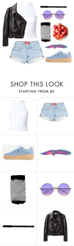 """Unbenannt #2670"" by avonearth ❤ liked on Polyvore featuring Y/Project, Kershaw, ASOS, ZeroUV, W3LL People and Acne Studios"