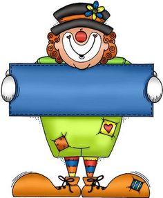 Clown brievenbus - 'in clown'