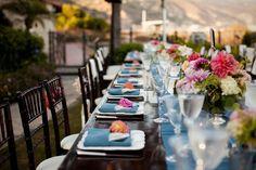 {In the Press} Style Me Pretty: Real Wedding, Malibu « Laura Hooper