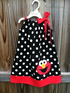 Elmo pillowcase dress